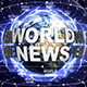 World News Text Around the Earth - VideoHive Item for Sale
