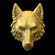 Wolf head 3D print model - 3DOcean Item for Sale