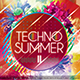 Techno Summer II Photoshop Flyer Template - GraphicRiver Item for Sale