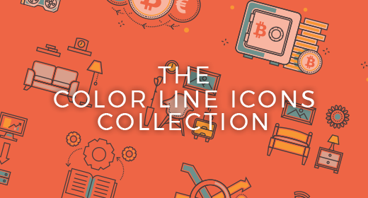 Color Line Icons Collection