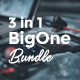 BigOne Bundle 3 in 1 Powerpoint Template - GraphicRiver Item for Sale