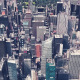 4K New York City Skyscrapers Aerial View - VideoHive Item for Sale