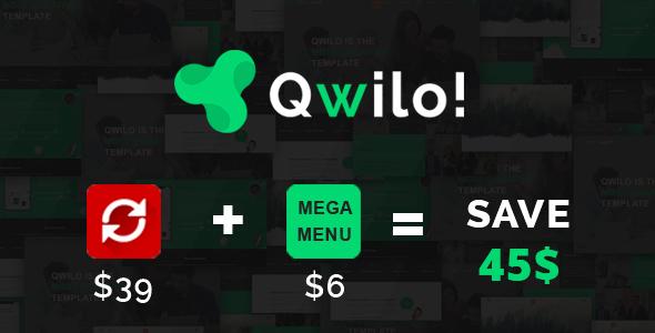 Qwilo – Multi-purpose Responsive HTML5 Template