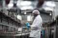 Factory engineer using digital tablet in the factory - PhotoDune Item for Sale