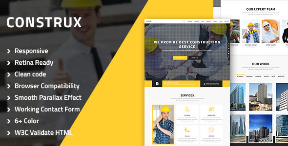 construx - construction, architecture & building multipurpose html resposive template (business) Construx – Construction, Architecture & Building Multipurpose HTML resposive Template (Business) 01 Construx