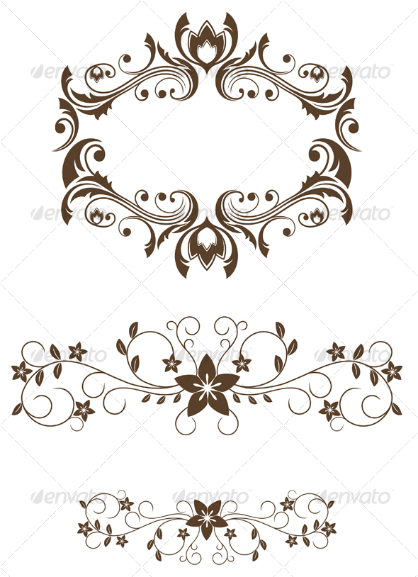 Vintage decorations - Decorative Vectors