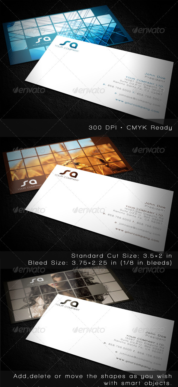 Picorama Business Cards - Creative Business Cards