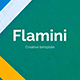 Flamini Minimal Powerpoint Template - GraphicRiver Item for Sale