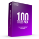 100 Titles Pack - VideoHive Item for Sale