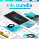 Mix Bundle 2 in 1 - Business Google Slide Template - GraphicRiver Item for Sale