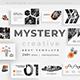 Mystery - Orange Creative Google Slide Template