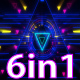 VJ Tri Neon Lights - VideoHive Item for Sale