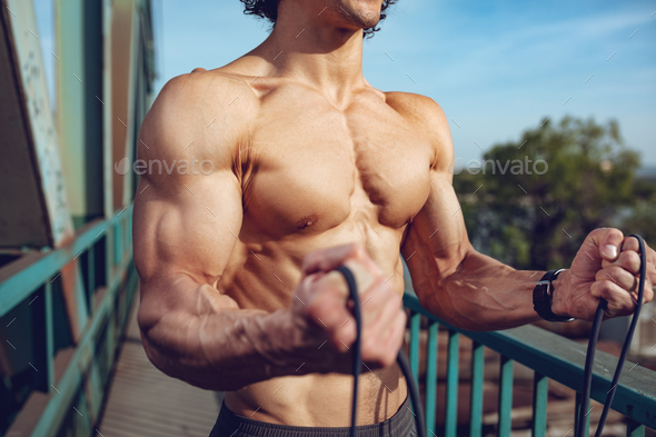 Muscular Male Torso - Stock Photo - Images