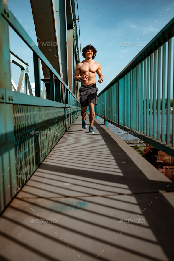 Jogging In The Morning - Stock Photo - Images