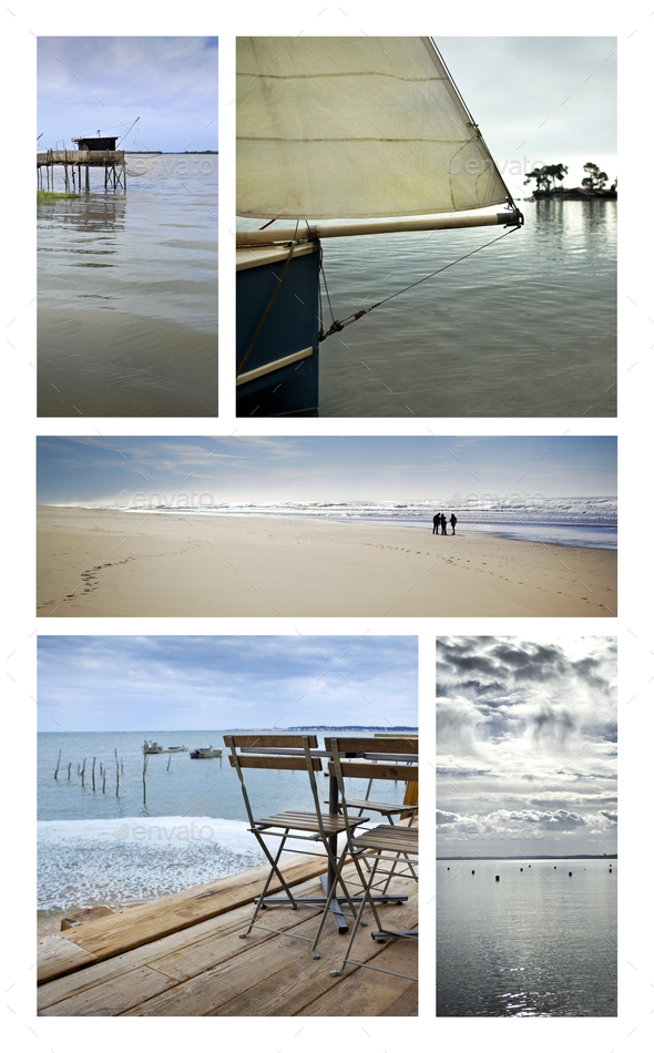 Sea and beaches - Stock Photo - Images