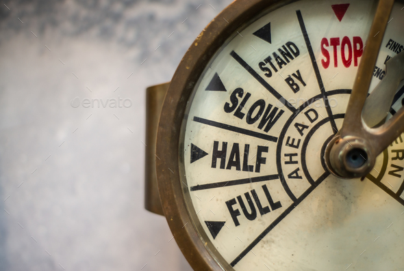 Engine Order Telegraph - Stock Photo - Images