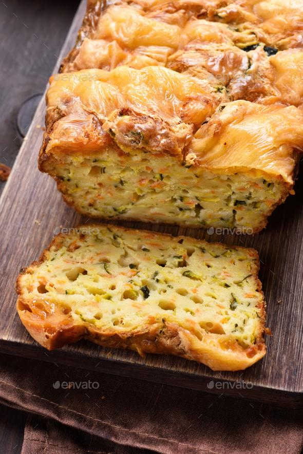 Moist vegetable bread - Stock Photo - Images