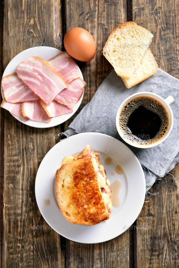 Breakfast, top view - Stock Photo - Images