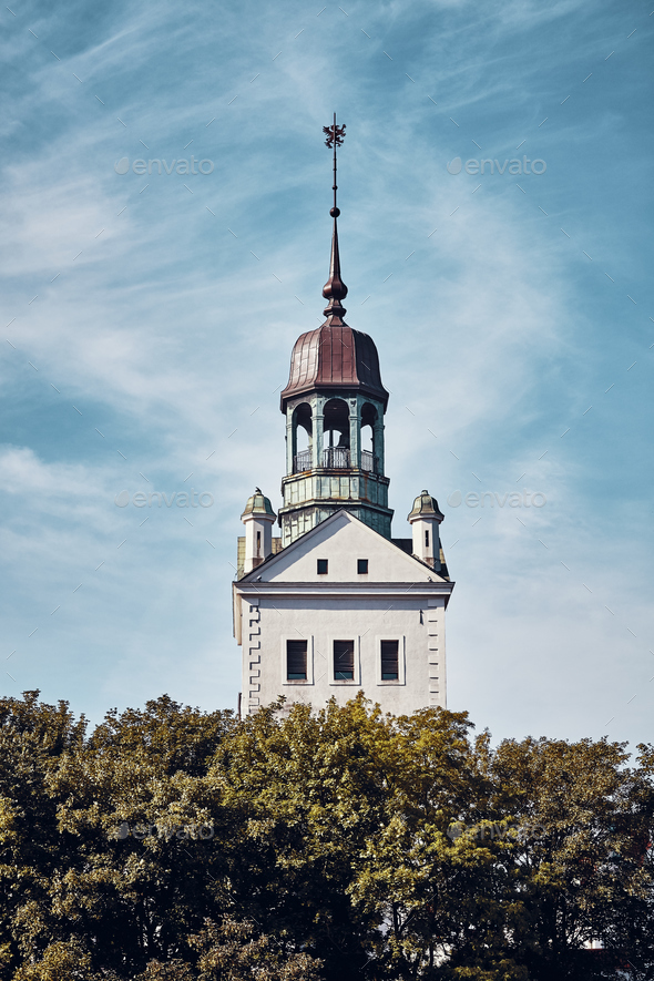 Pomeranian Dukes Castle in Szczecin, Poland. - Stock Photo - Images