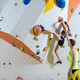 Rock climbers in climbing gym. - PhotoDune Item for Sale