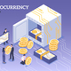 Isometric Cryptocurrency Illustration