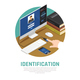 Computer Identity Approval Background - GraphicRiver Item for Sale