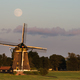 Full moon over a traditional windmill - PhotoDune Item for Sale