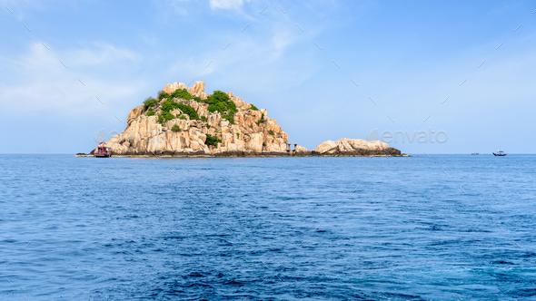 Shark Island Divesite - Stock Photo - Images