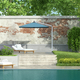 Luxury garden with pool - PhotoDune Item for Sale