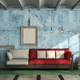 Colorful living room in old style - PhotoDune Item for Sale