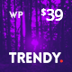 Trendy Pro - Responsive News Magazine and Blog WordPress Theme - ThemeForest Item for Sale