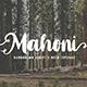Mahoni - Script & Bold - GraphicRiver Item for Sale