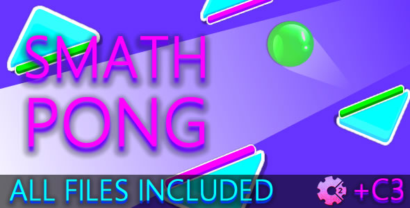 Smath Pong (C2 + C3 + HTML) Game! - CodeCanyon Item for Sale