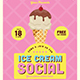 Ice Cream Social Flyer - GraphicRiver Item for Sale