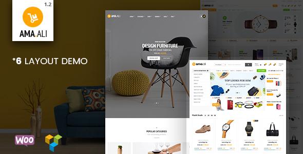 Image of Ama.Ali - Market Shop WooCommerce WordPress Theme