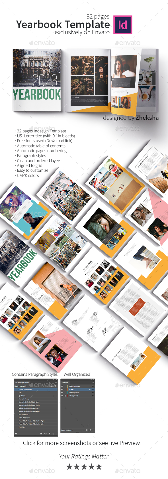 Yearbook Graphics Designs Templates From Graphicriver