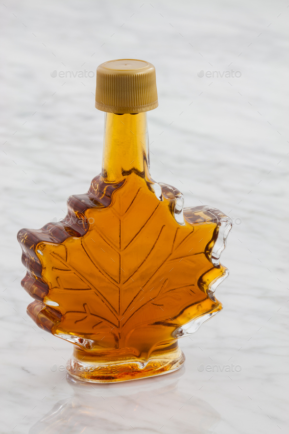 delicious maple syrup - Stock Photo - Images