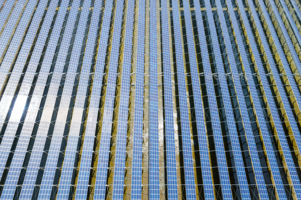photovoltaic solar power - Stock Photo - Images