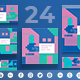 Industry Show Social Media Pack - GraphicRiver Item for Sale