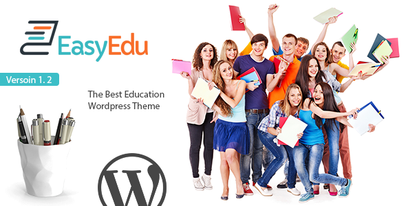 EasyEdu - Responsive Education WordPress Theme - Corporate WordPress