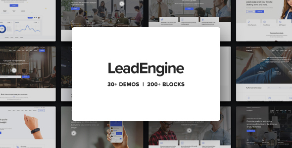 Image of LeadEngine - Multi-Purpose WordPress Theme with Page Builder