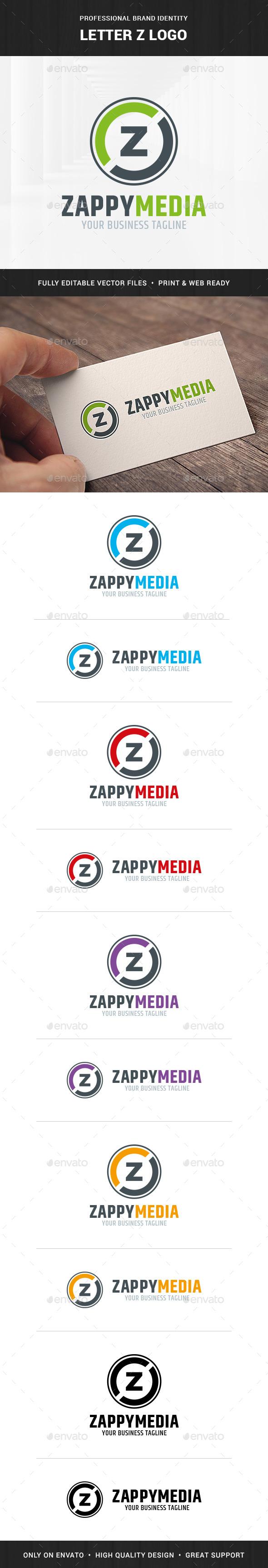 Letter Z Logo Template - Letters Logo Templates