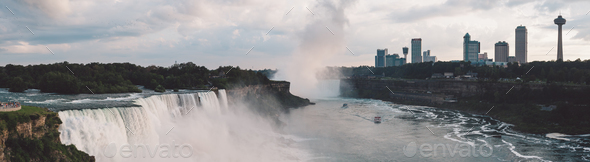 Niagara Falls - USA - Stock Photo - Images