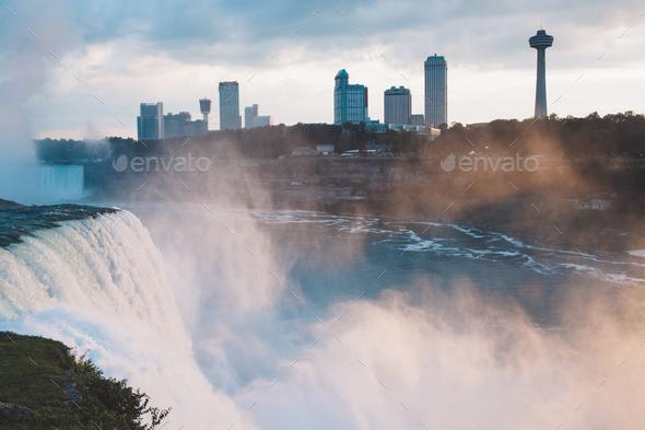 Niagara Falls - USA - Stock Photo - Images