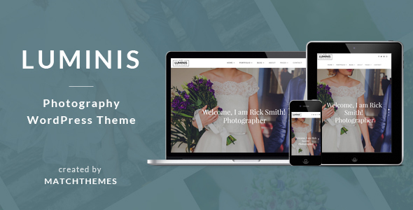 Luminis - Photography WordPress Theme for Wedding, Travel, Event Portfolios - Photography Creative