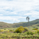 Water-pumping windmill and historic railway track near Lady Grey - PhotoDune Item for Sale