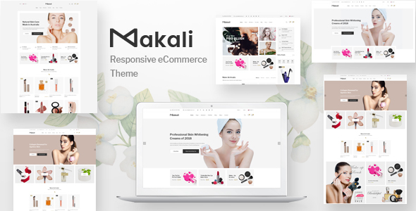 Makali - Responsive PrestaShop Theme - Health & Beauty PrestaShop