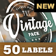 The Vintage - Labels and Titles Pack - VideoHive Item for Sale