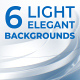 6 Light Elegant Backgrounds - VideoHive Item for Sale