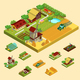 Isometric Agricultural Concept - GraphicRiver Item for Sale